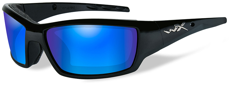 d4736febd14 wiley-x-wx-tide-safety-sunglasses-with-gloss-. WX Tide Model  CCTID09  matches Wiley X s Gloss Black frame with Polarized Blue Mirror ...